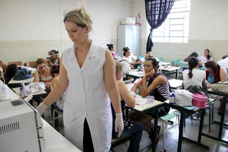 Mercado de trabalho para a Manicure